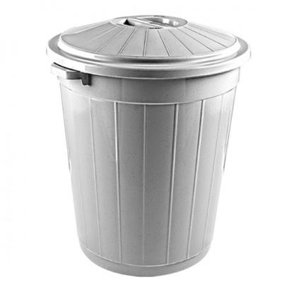 Çöp Kovası Battal Sempati Kapaklı 50 Lt